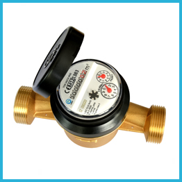 Single Jet Dry Type Water Meter MID Certificated