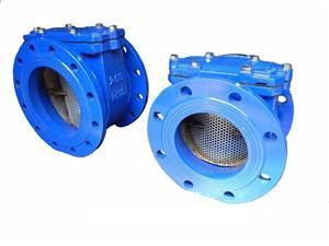 Bulk meter strainer/filter