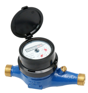 Economic multi jet dry type water meter (Itron model)