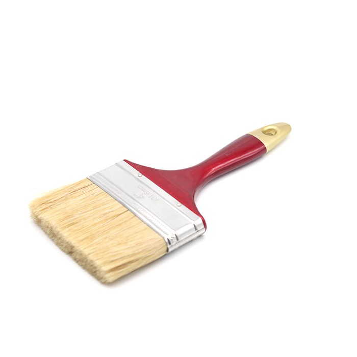 White Mixed Bristle Red Plastic With Golden Top Manufacturers, White Mixed Bristle Red Plastic With Golden Top Factory, Supply White Mixed Bristle Red Plastic With Golden Top