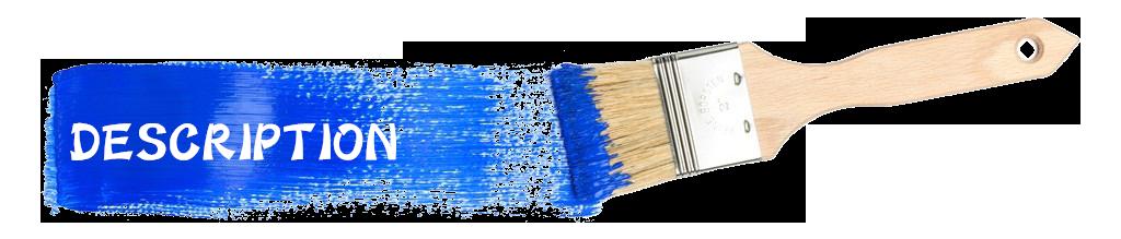 mixture bristle paint brush