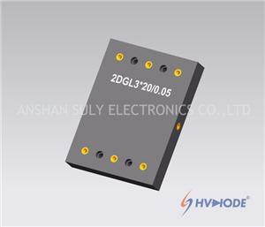 Multistage High Voltage Rectifier Bridge