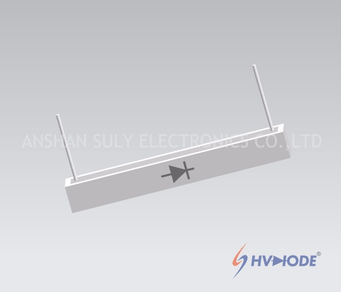 One Side Lead Wire Type Ceramic High Voltage Diodes