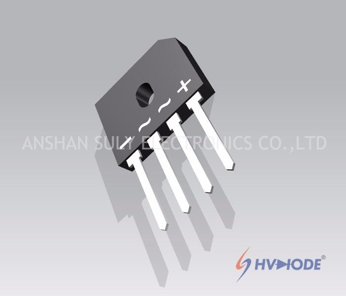 GBU Series High-power High Voltage Diodes