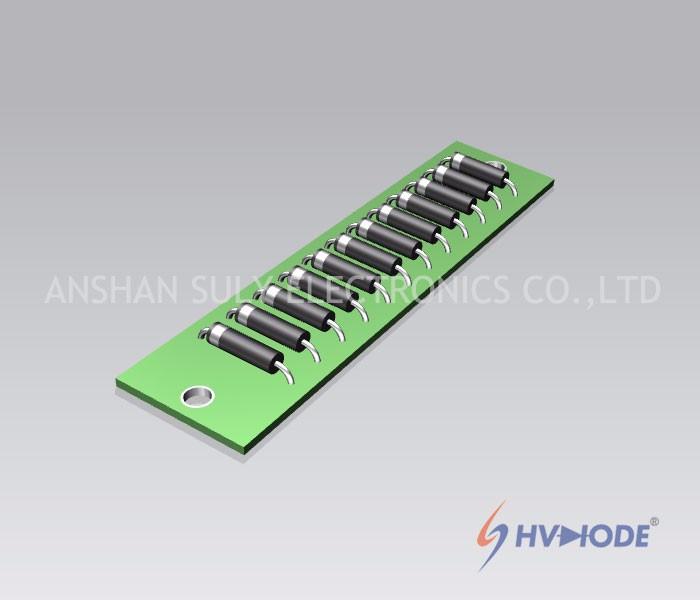 HVACB PCB High Current High Voltage Rectifier Assemblies
