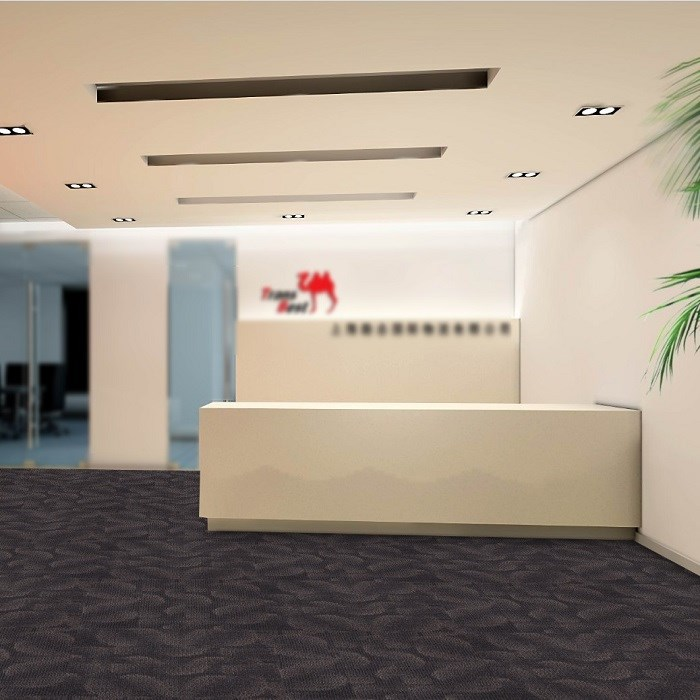 High quality Game room PVC Backing Carpet Tile