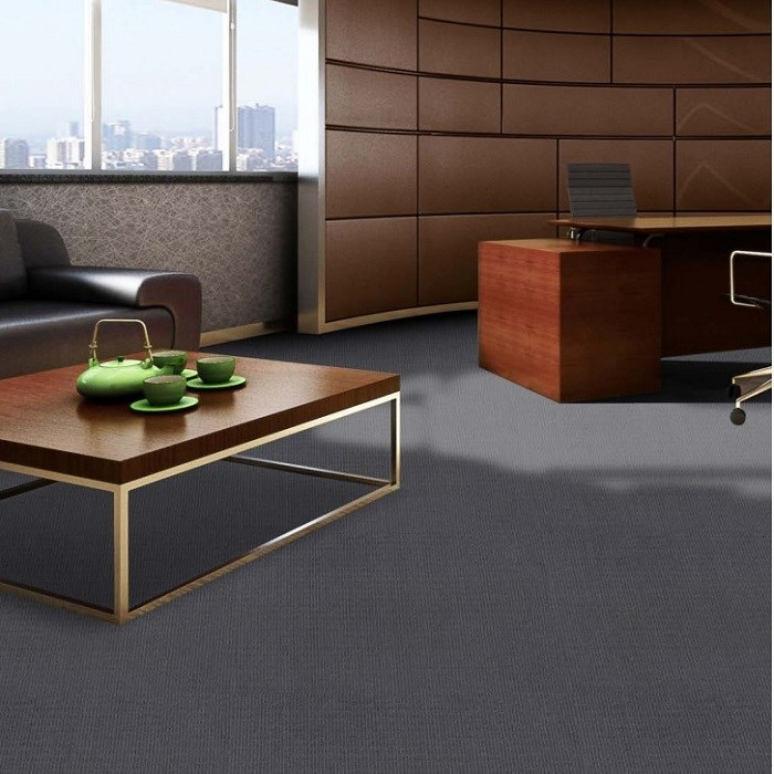 Cheap industrial Bathroom PVC Backing Carpet Tile