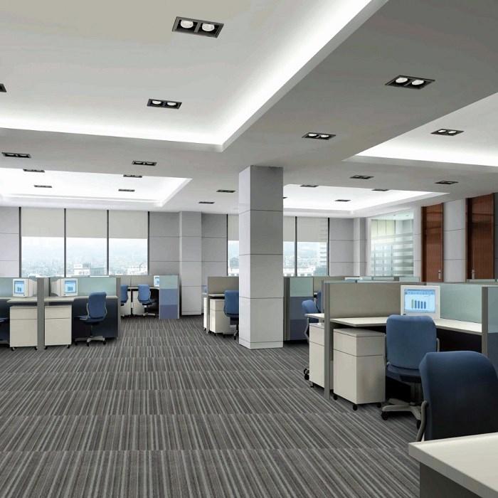 New Style grey high quality Stripe Modular Carpet