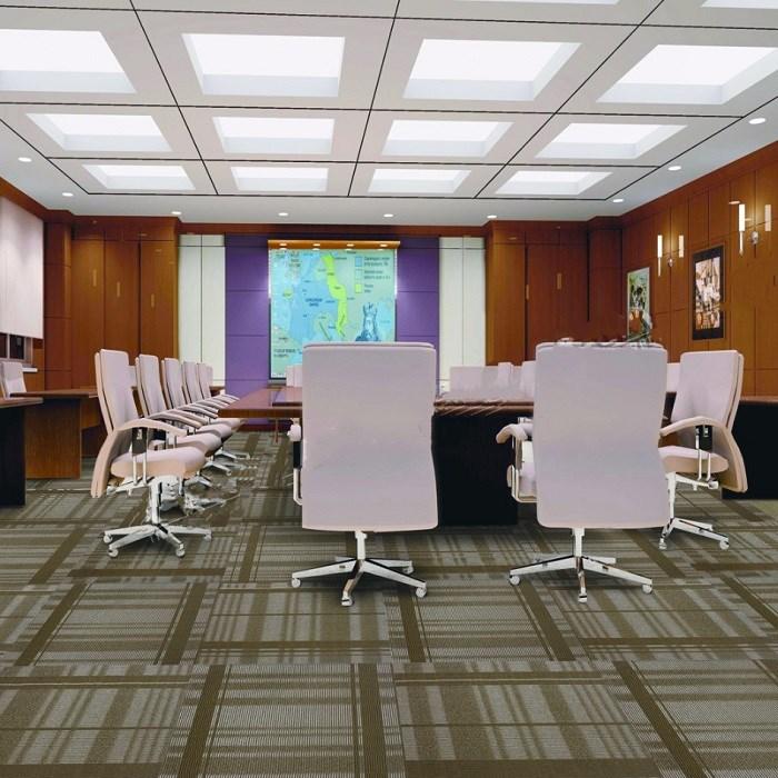 Non-slip Jacquard commercial Modular Carpet