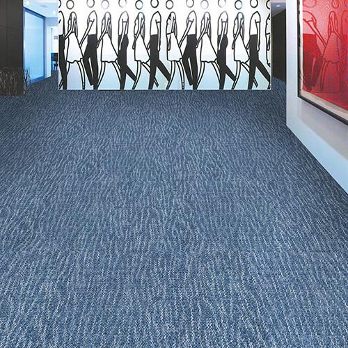 Good qualit PP Commercial Jacquard Modular Carpet