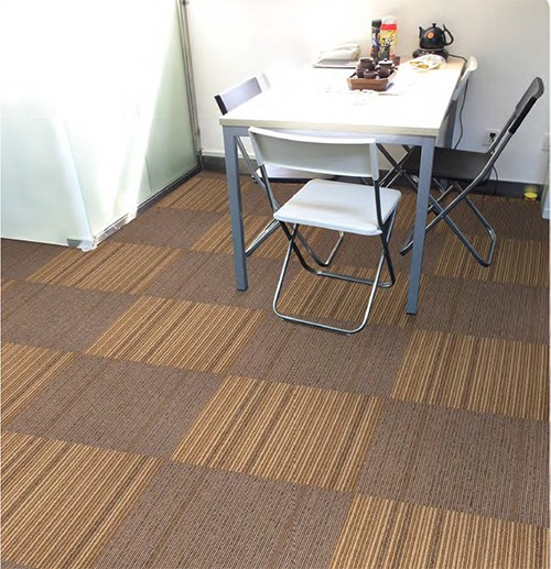 Hot sale Nylon Printed Airport Carpet Tile