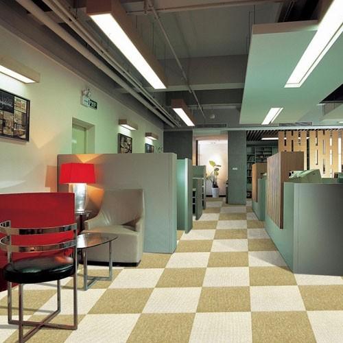 PVC Backing Carpet Tile Of Multiple Colors