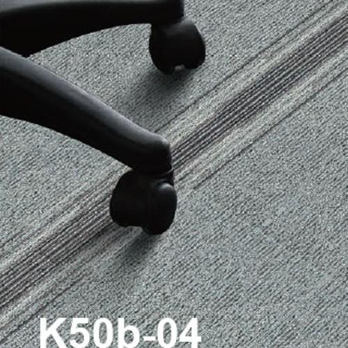 Commercial grey office PVC Backing Carpet Tile