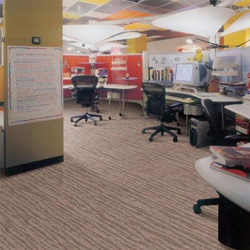 Warm noiseproof Jacquard dark Modular Carpet