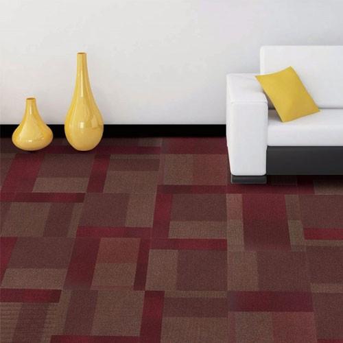 Commercial removable Jacquard Modular Carpet