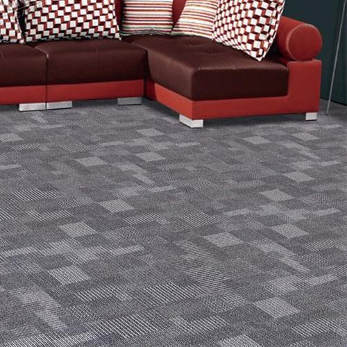 Fireproof PP Jacquard Modular Carpet high quality