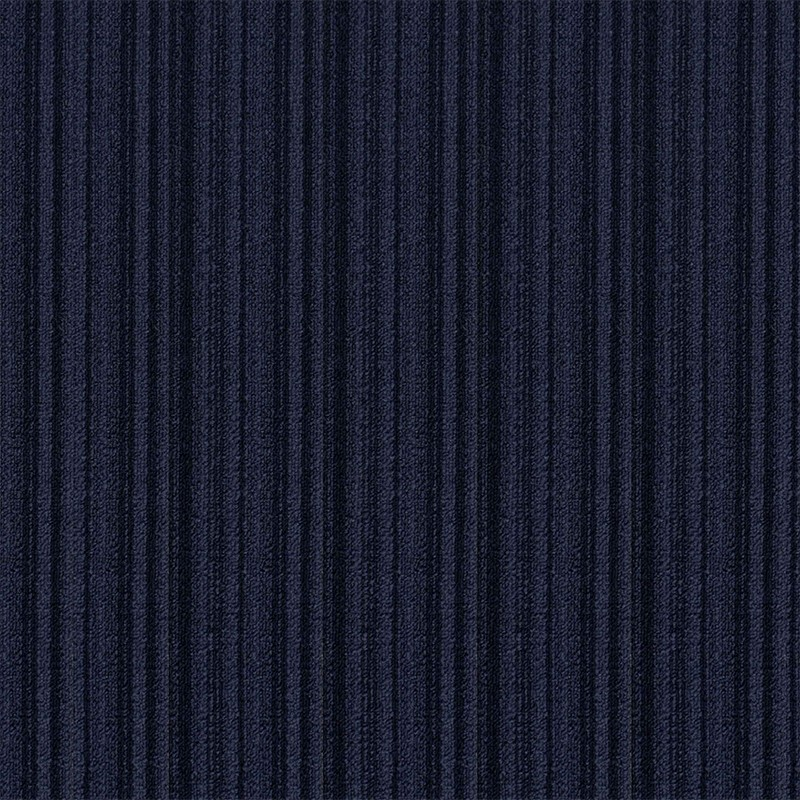 Commercial PVC backing carpet tile dark gray for bank