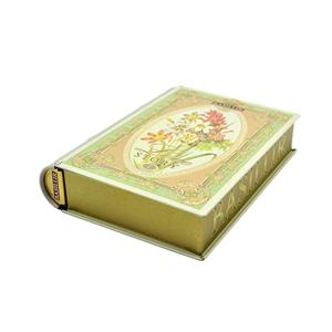 Book Shaped Tin Box
