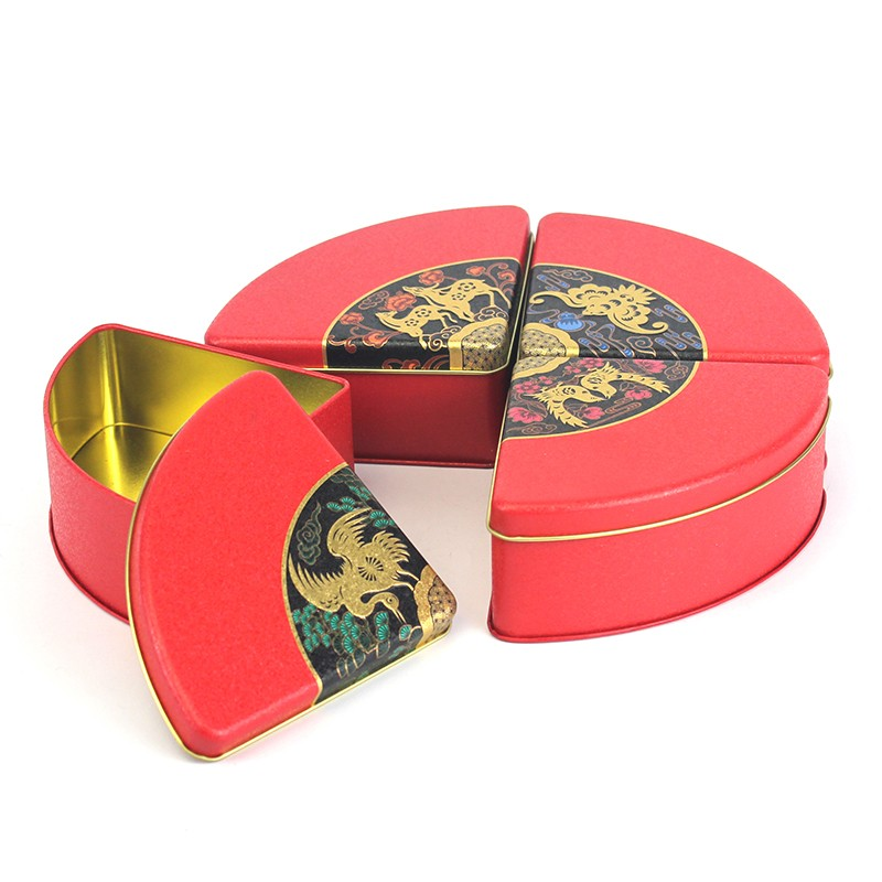 Fan Shaped Tin Box Manufacturers, Fan Shaped Tin Box Factory, Supply Fan Shaped Tin Box
