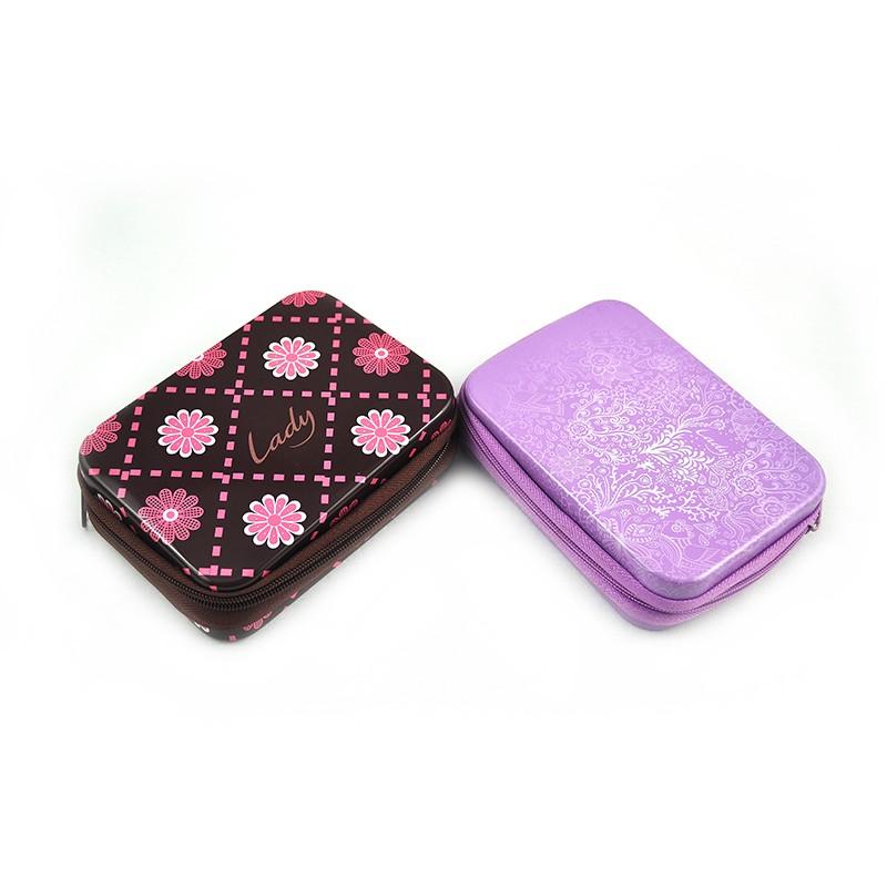 Rectangular Tin Box With Zipper Manufacturers, Rectangular Tin Box With Zipper Factory, Supply Rectangular Tin Box With Zipper