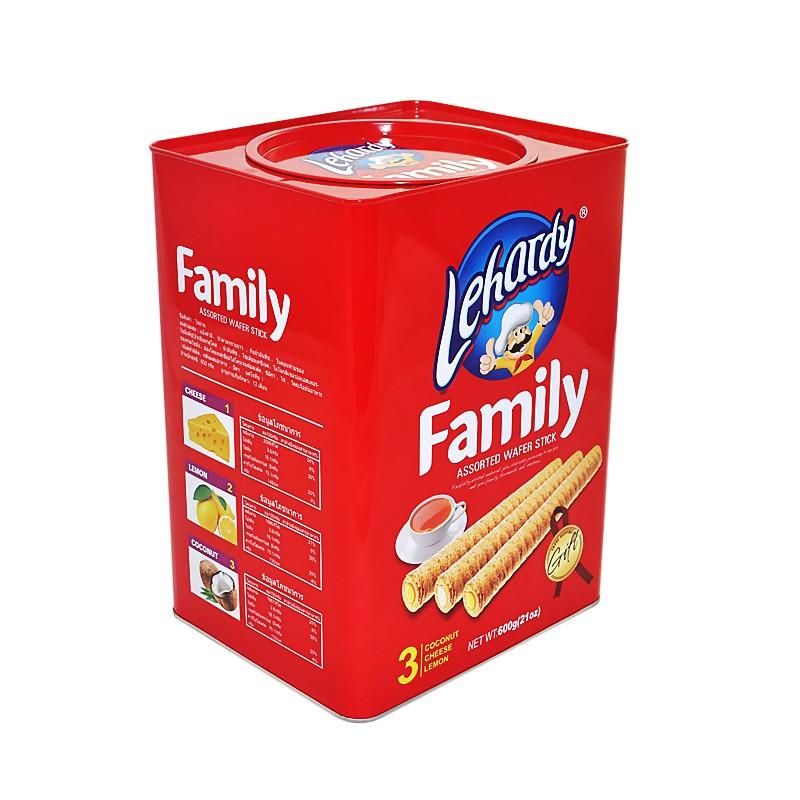 Rectangular Cookie Tin Box