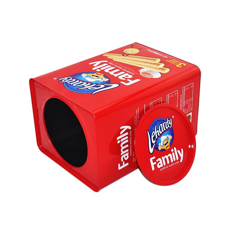 Rectangular Cookie Tin Box Manufacturers, Rectangular Cookie Tin Box Factory, Supply Rectangular Cookie Tin Box