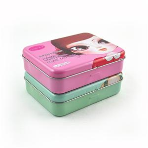 Rectangular Tin Box For Eye Mask