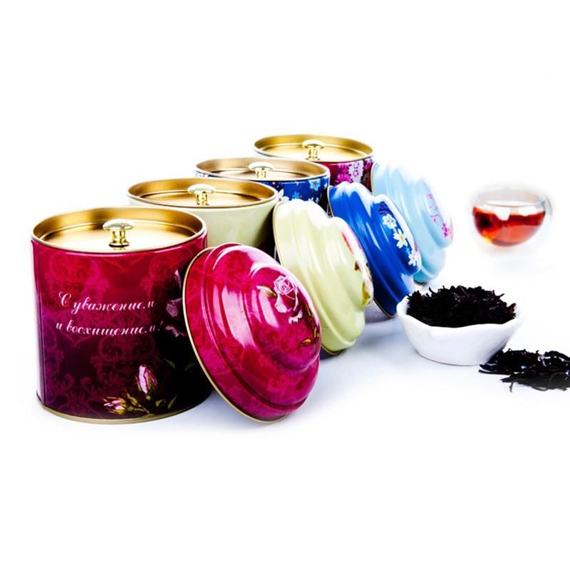 Round Tea Tin Box Manufacturers, Round Tea Tin Box Factory, Supply Round Tea Tin Box