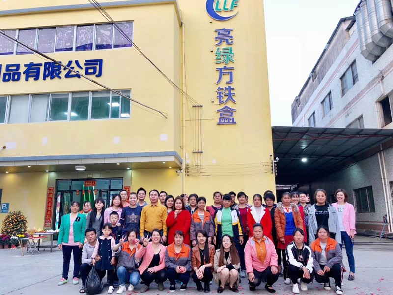 Teamwork in Lianglvfang Company