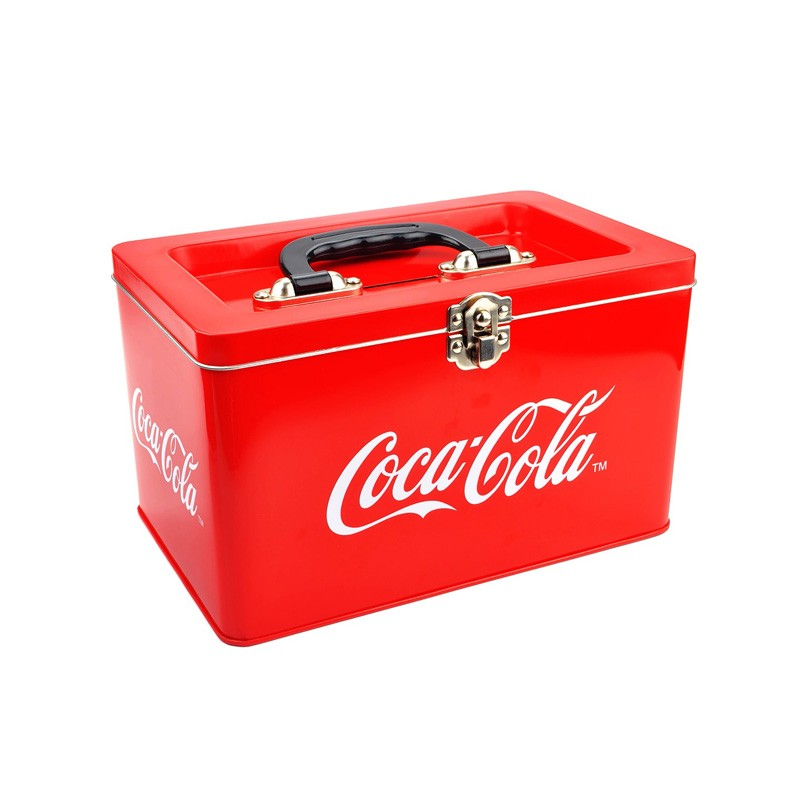 Promotional Tin Box With Handle