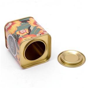 Rectangular Tin Box For Tea Manufacturers, Rectangular Tin Box For Tea Factory, Supply Rectangular Tin Box For Tea