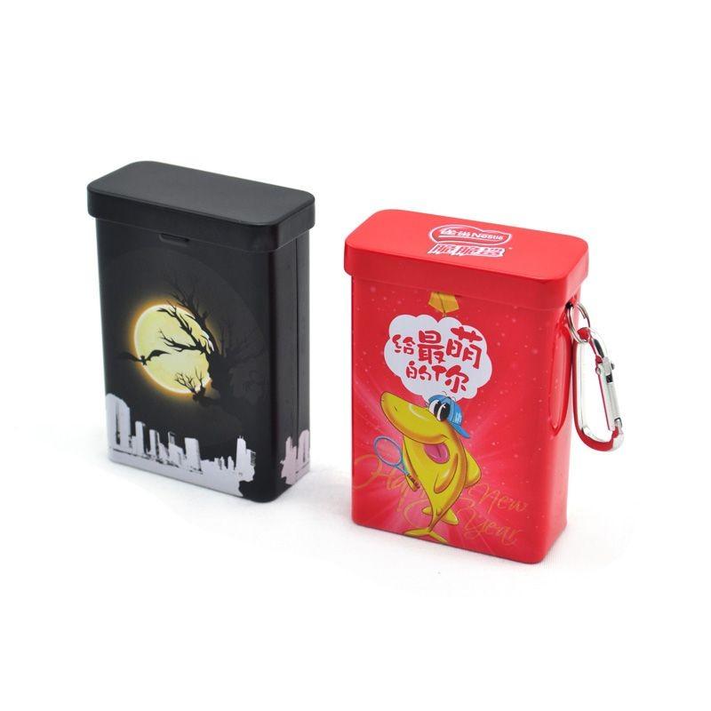 Rectangular Tobacco Tin Box