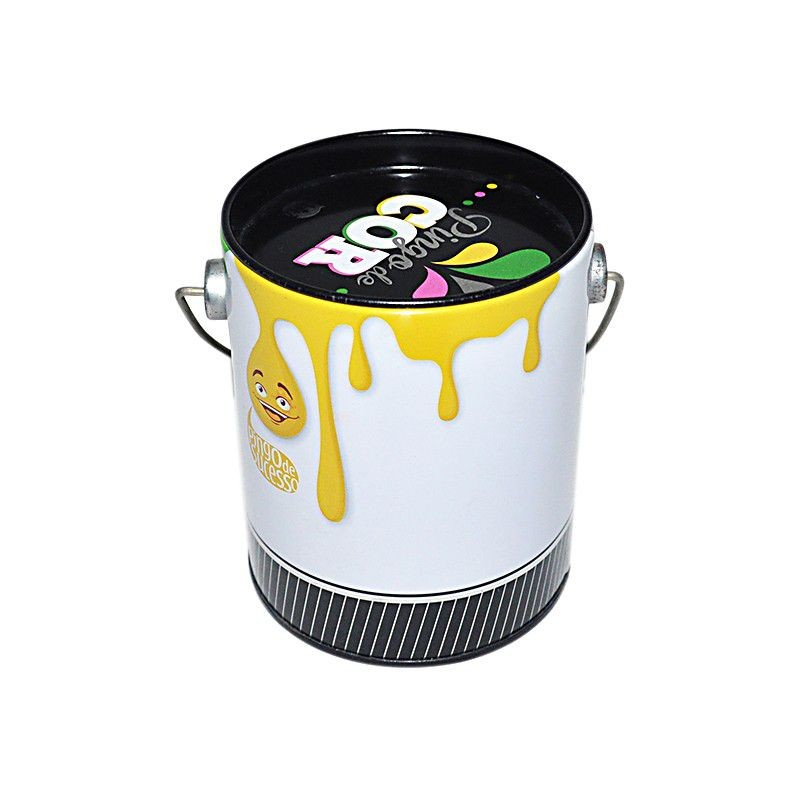 Tin Box With Handle For Popcorn Package Manufacturers, Tin Box With Handle For Popcorn Package Factory, Supply Tin Box With Handle For Popcorn Package