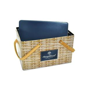 Gift Tin Box With Handle Manufacturers, Gift Tin Box With Handle Factory, Supply Gift Tin Box With Handle