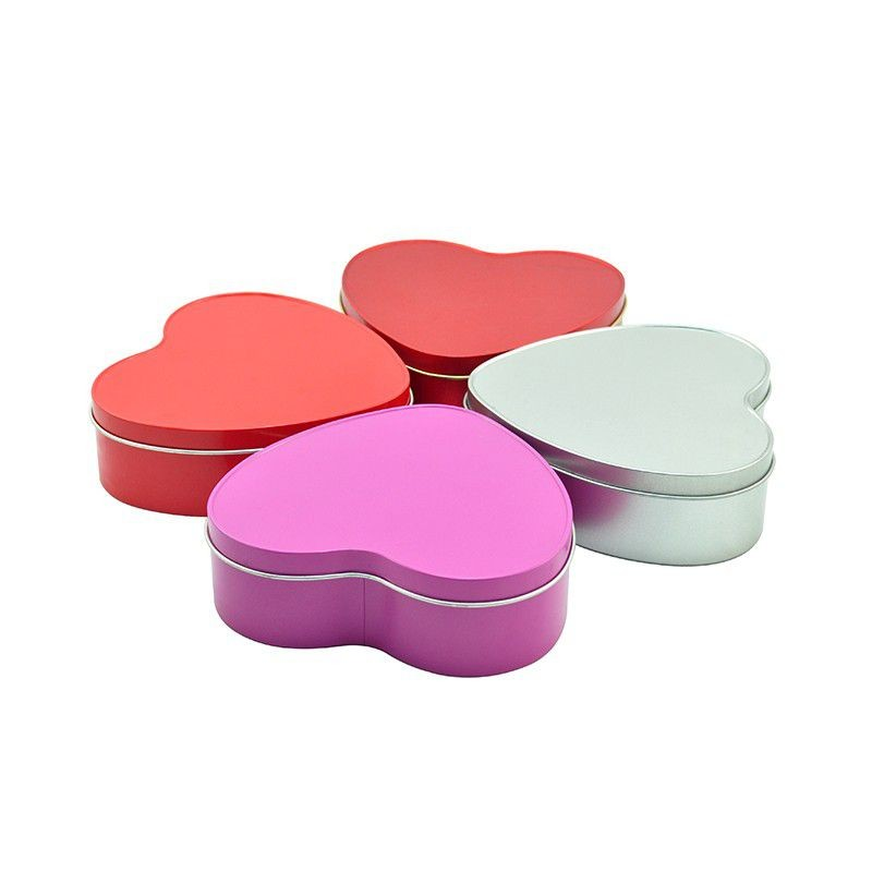 Heart Shaped Tin Box Manufacturers, Heart Shaped Tin Box Factory, Supply Heart Shaped Tin Box