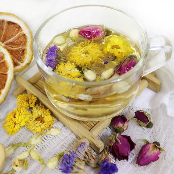 Catalogue à base de plantes de thé