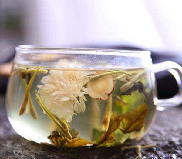 Honeysuckle Flower Tea