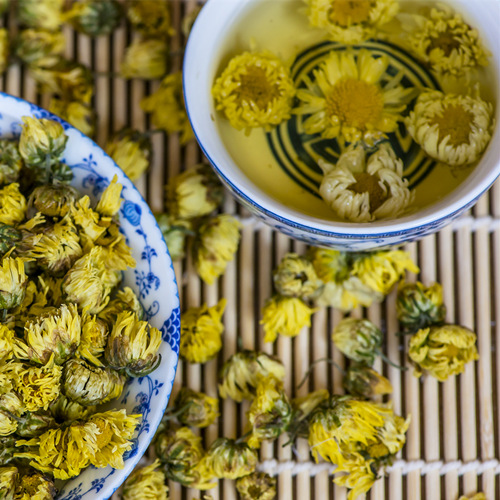 Chrysanthemum Flower Bub Tea
