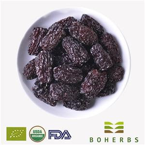 Dried Black Jujubes Certified Organic