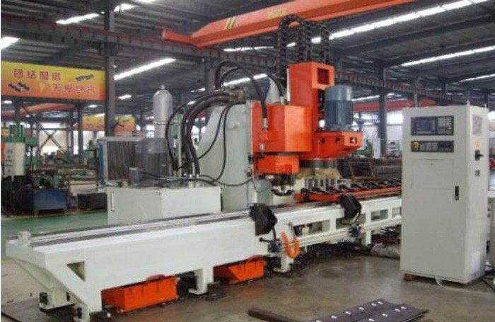 CNC Punching And Drilling Compound Machine
