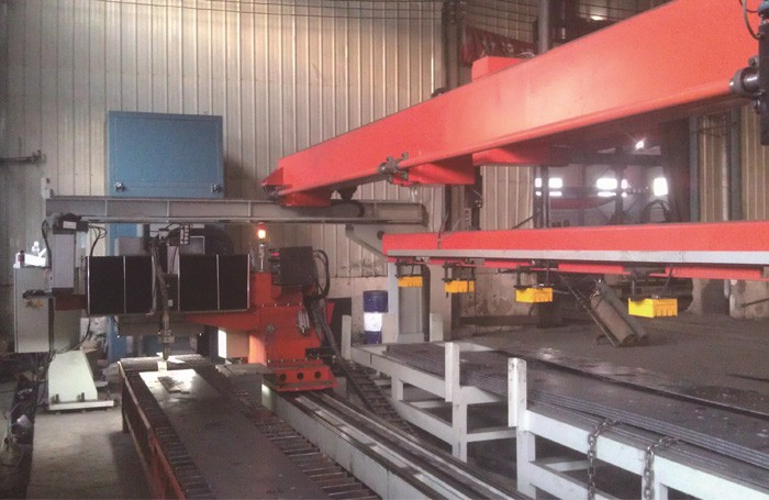Beam CNC Vision Plasma Cutting Production Line