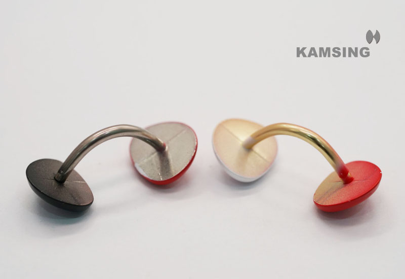 Colorful Decorative Cufflink
