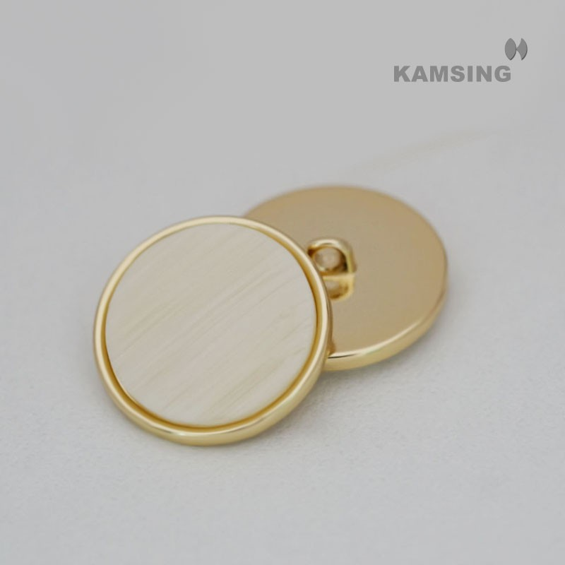 Resin Alloy Shank Button