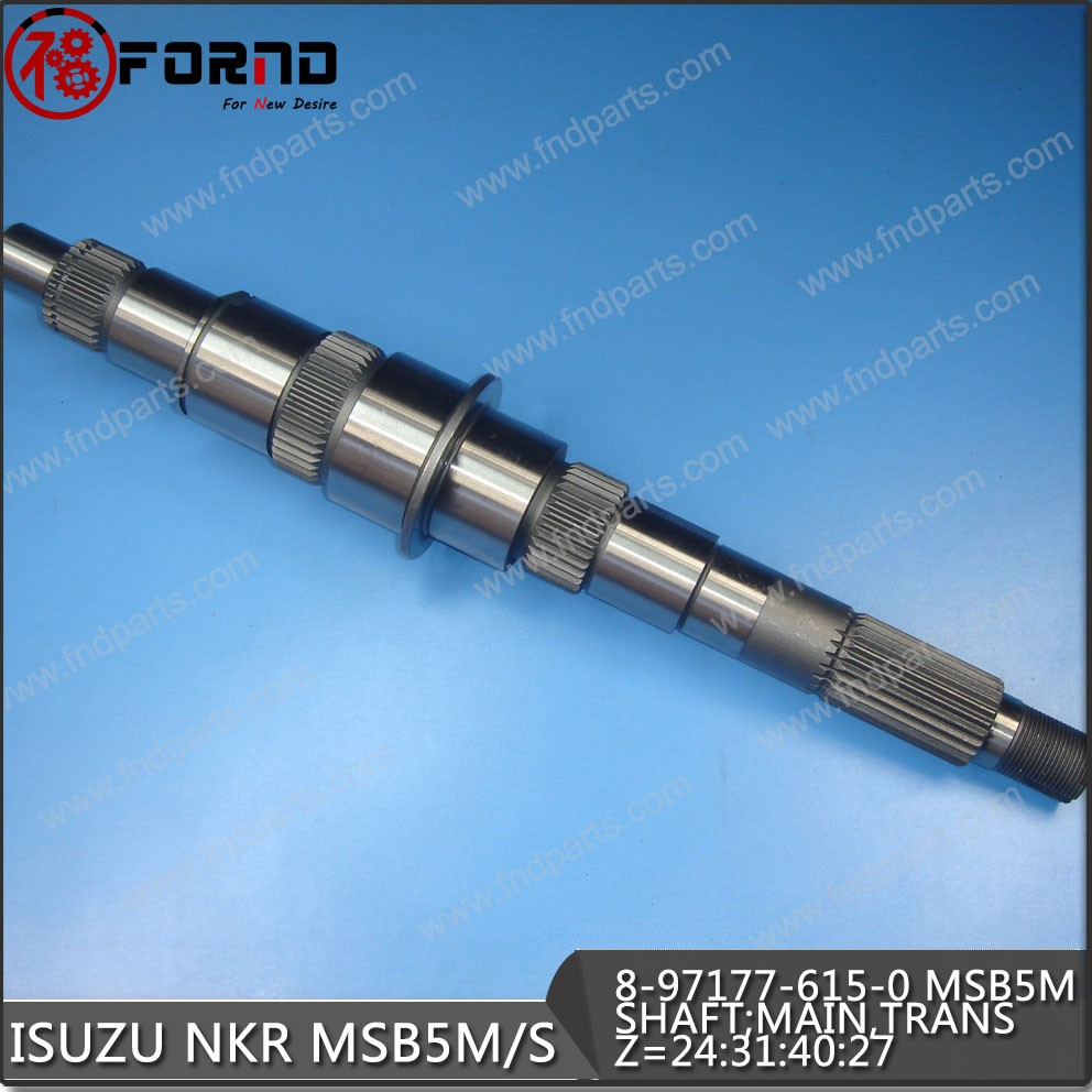 OUTPUT SHAFT 8-97177-615-0