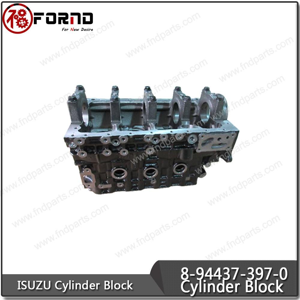 ISUZU Cylinder Block 8-94437-397-0