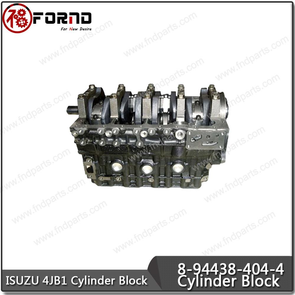 ISUZU JX493ZLQ4 Cylinder Block