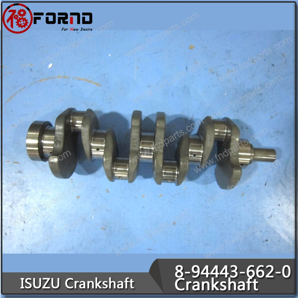 ISUZU Crankshaft 8-94443-662-0