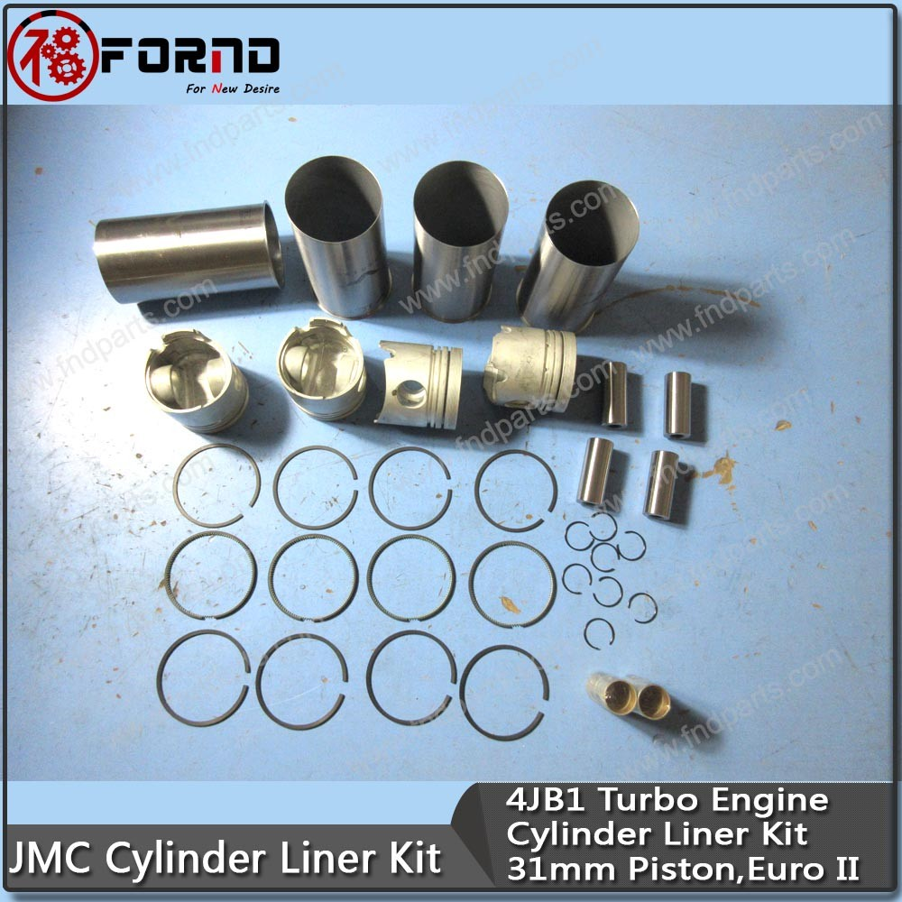 ISUZU Cylinder Liner Kit For 4JB1
