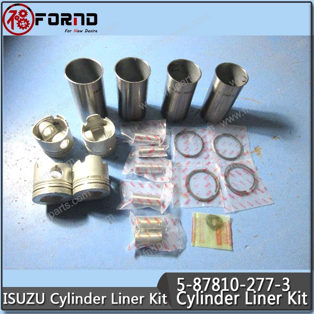 ISUZU Cylinder Liner Kit 5-87810-277-3