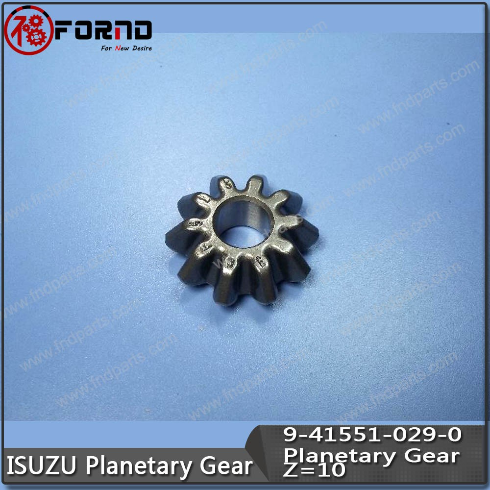 Planetary Gear 9-41551-029-0